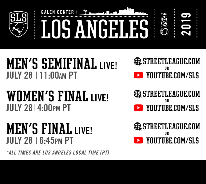 Agenda SLS World Championship